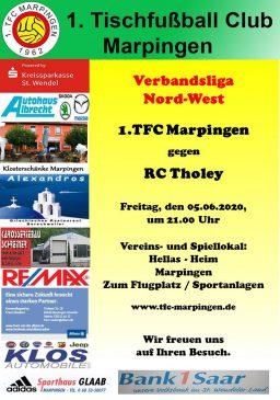 Verbandsliga Nord-West: 1.TFC Marpingen - RC Tholey @ Hellas-Heim