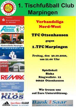 Verbandsliga Nord-West: TFC Otzenhausen - 1.TFC Marpingen @ Siska